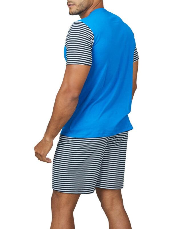Pijama varón de gamuza pima